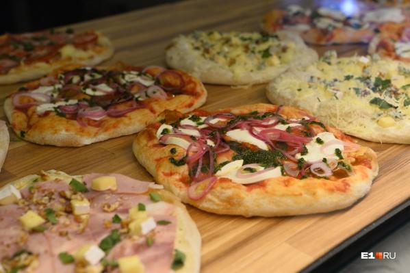 Пиццерий за год в городе стало больше на 73%