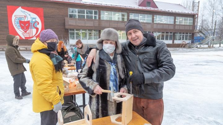 У кого лучшая кормушка: санаторий «Беломорье» провел праздник Синичкин день