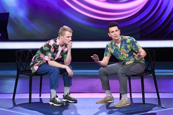 До участия в«Comedy Баттл» парни выступали в КВН