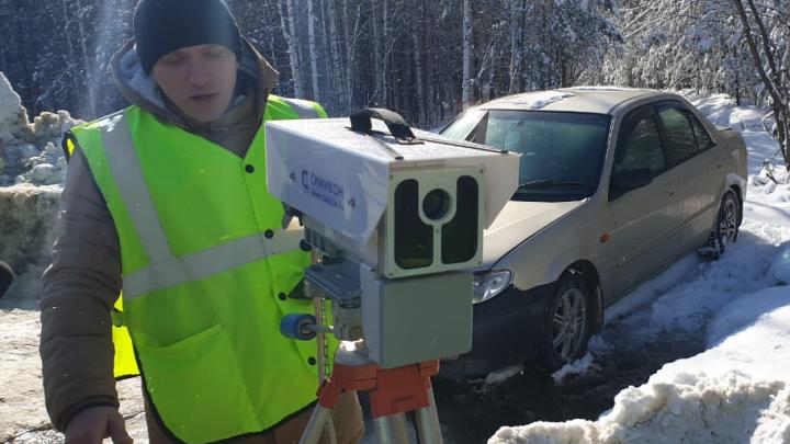 Областная ГИБДД раскрыла, сколько камер ставят на треногах вдоль свердловских трасс