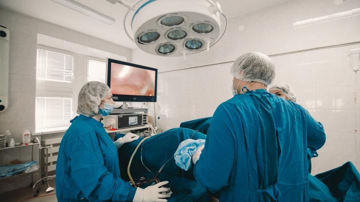 Тюменку после тяжелых домашних родов доставили в больницу