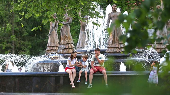 В Башкирии температура воздуха поднимется до +36 °С, в городе уже начал плавиться асфальт