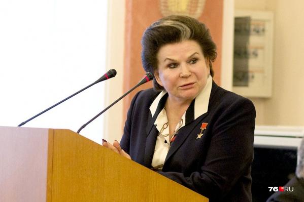 Валентина Терешкова вышла с предложением по изменению Конституции, что спровоцировало бурные споры