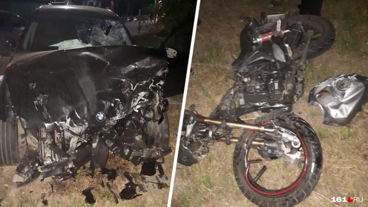 В Ростове на водителя BMW, сбившего насмерть девушку-байкера, завели дело