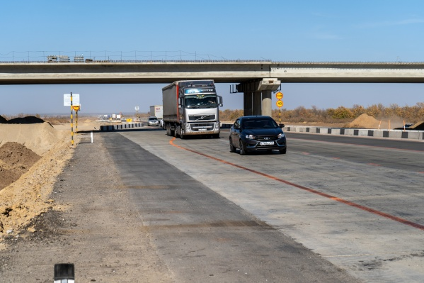 Движение по новому участку дороги уже открыто