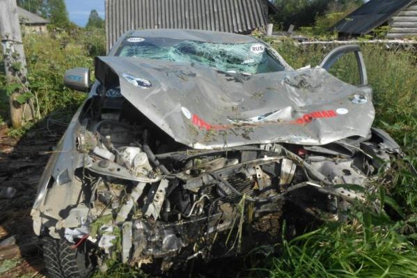Автомобиль, на котором осуждённый сбил пешехода, пришёл в негодность