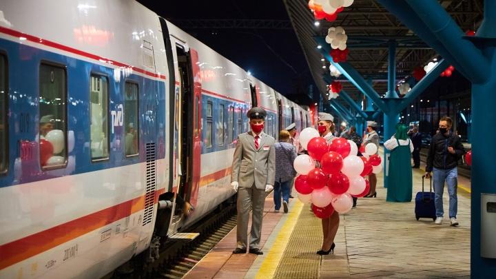 Со скоростью «Стрижа»: рассматриваем в деталях новый поезд Самара — Санкт-Петербург