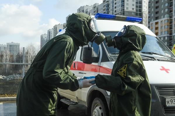 В столице Урала заболевших больше, чем в трех соседних регионах