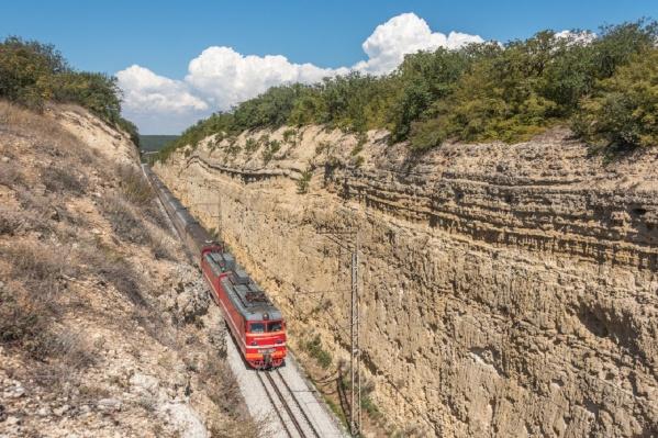 Поезд доставит пассажиров из Перми в теплый Крым