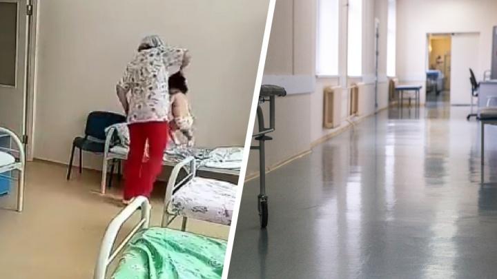 Стало известно, где были родители новосибирской девочки, с которой жестоко обращалась медсестра