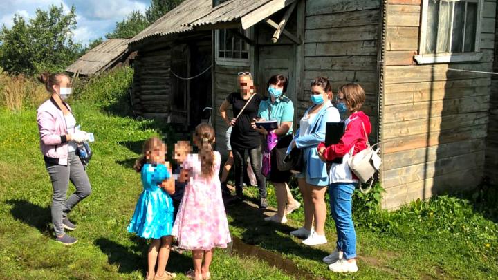 Жили в антисанитарии: в Ярославской области пятерых детей забрали из семьи на реабилитацию