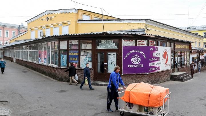 Нижегородские экскурсоводы выступили против строительства ТЦ на Мытном рынке