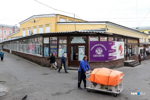Многие нижегородцы считают, что на Мытном рынке нужно воссоздать исторические торговые ряды