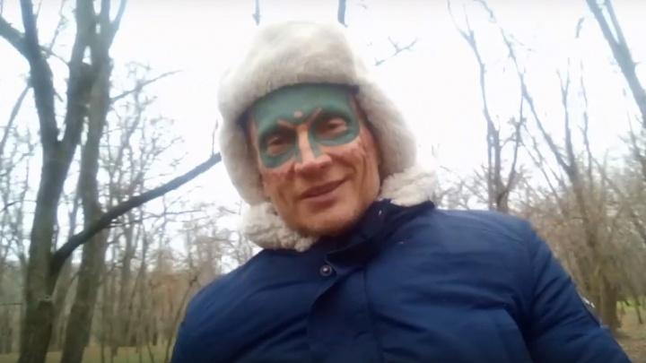 Древарх записал видео в поддержку защитников зеленого сквера в Архангельске