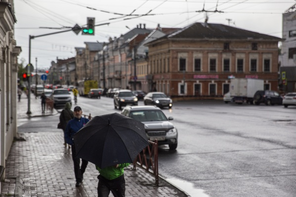 В Ярославской области пройдут грозы