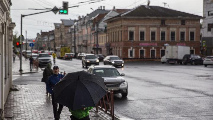 Экстренное предупреждение МЧС: на Ярославль движутся дождь, грозы и сильный ветер