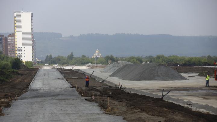 Шестиполосную дорогу за 250 млн рублей в Кемерово построят ко Дню шахтера