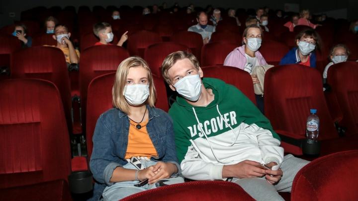 В Кузбассе наконец-то открыли кинотеатры. Они не работали больше 6 месяцев