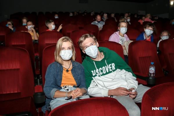Кинотеатры не работали с середины марта 2020-го