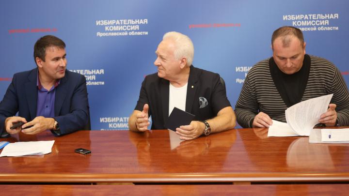 Первый губернатор Ярославской области намерен войти в состав Госдумы РФ