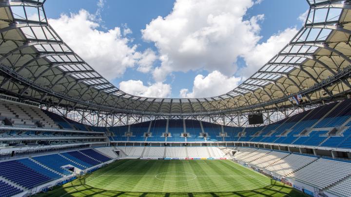 «Одеяло» за 2 миллиона рублей: газон «Волгоград арены» на зиму укроют полиэтиленом