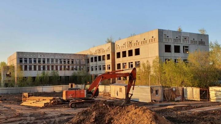 В Архангельске снесут недостроенную школу