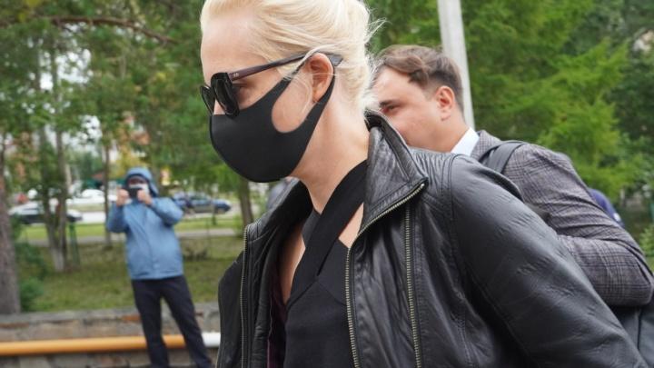Минздрав сообщил, что в палату к Алексею Навальному пустили его жену