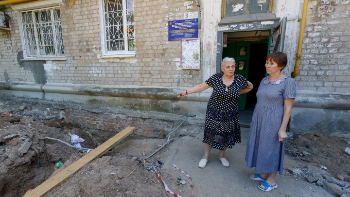 История одного капремонта: почему в квартирах волгоградцев бьют фонтаны фекалий и куда делись землекопы