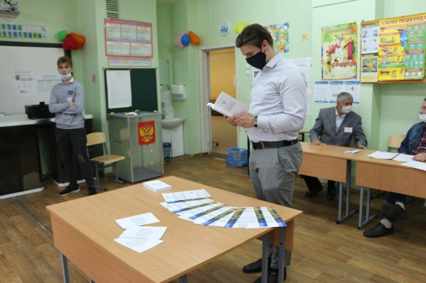 Довольно уныло сегодня на избирательных участках