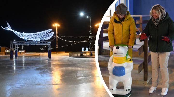 Самый большой в Екатеринбурге: тестируем новый каток вместе с директором парка Маяковского