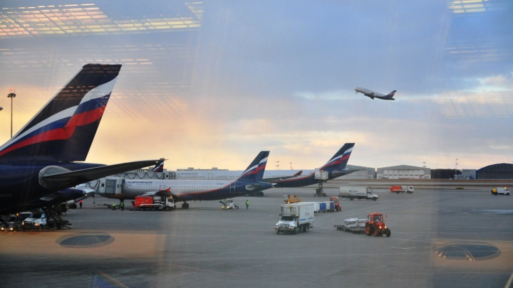 В Кольцово сел самолёт из Москвы, с которого поступал сигнал об угрозе взрыва