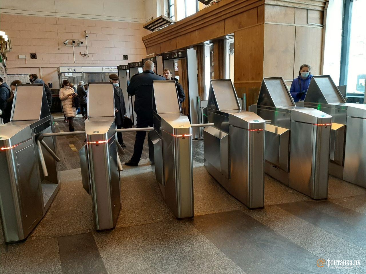 станция метро «Чернышевская»<br><br>автор Ирина Корбат / «Фонтанка.ру»<br>