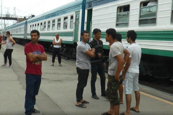 Поезд для мигрантов организовали власти Узбекистана