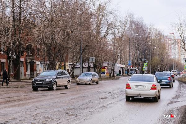 Улице Карпинского давно требовался ремонт