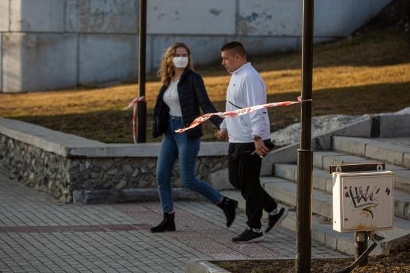 Новосибирск установил новый рекорд по количеству заболевших за день