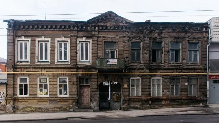 В Ростове снесут страдавший от пожаров доходный дом Науменко