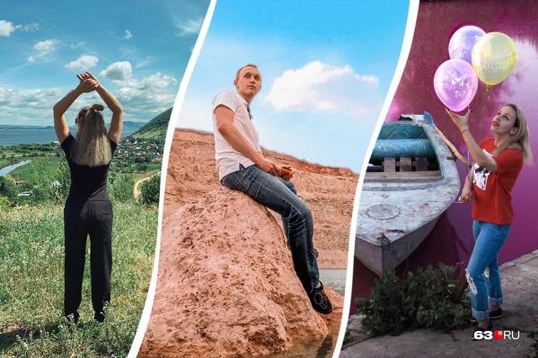 Самарская область богата красочными пейзажами