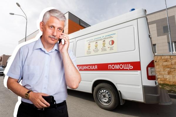 Михаил Таранцов ждал скорую для матери больше двух часов