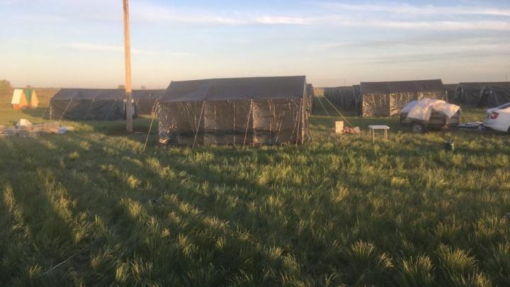 1199 человек покинули лагерь мигрантов в Большечерниговском районе