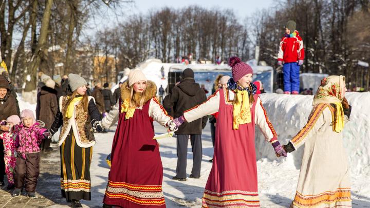Ярославцев ждет безалкогольная Масленица