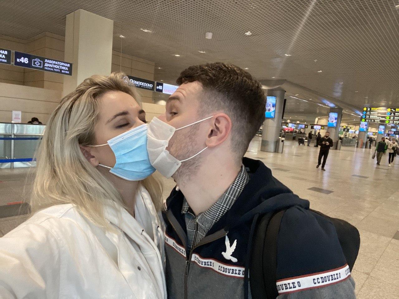 Из-за пандемии Алина не видела мужа 7 месяцев
