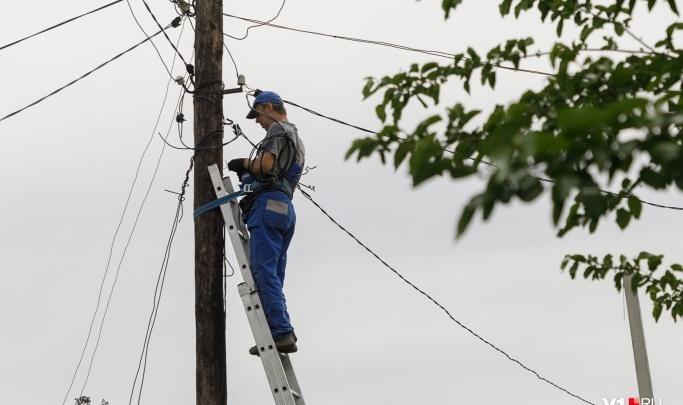 Волгоградцев в самую жару оставляют без света: смотрим список отключений