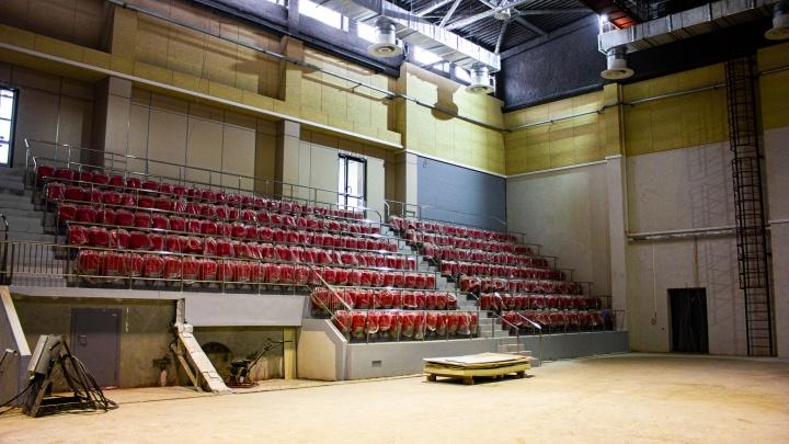 Спрос на арену для 5 тысяч зрителей — высокий: в Новосибирске досрочно откроют волейбольный центр