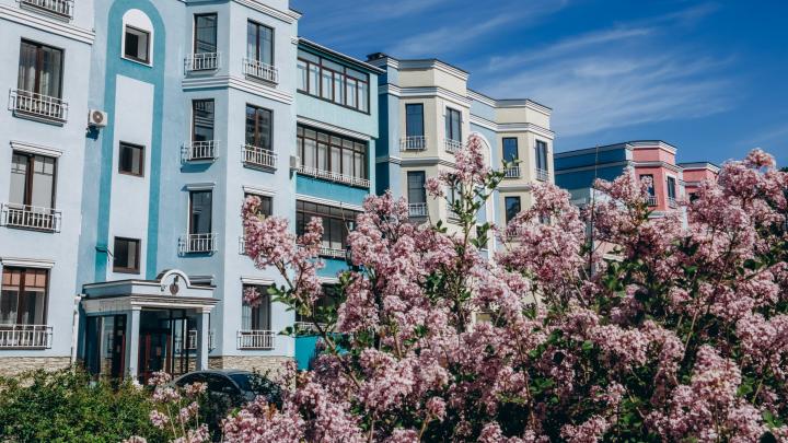 Челябинцам предложили двухуровневые апартаменты с террасой на крыше в ипотеку под 2,7%