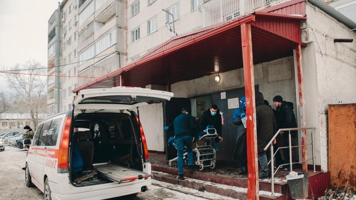 У них был ковид: двое пенсионеров скончались в Тюменской области