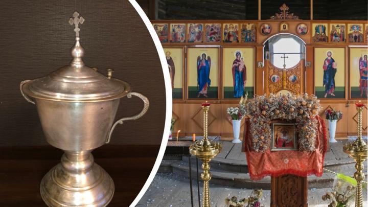 Красноярские байкеры реставрируют церковную чашу XIX века для старинного храма