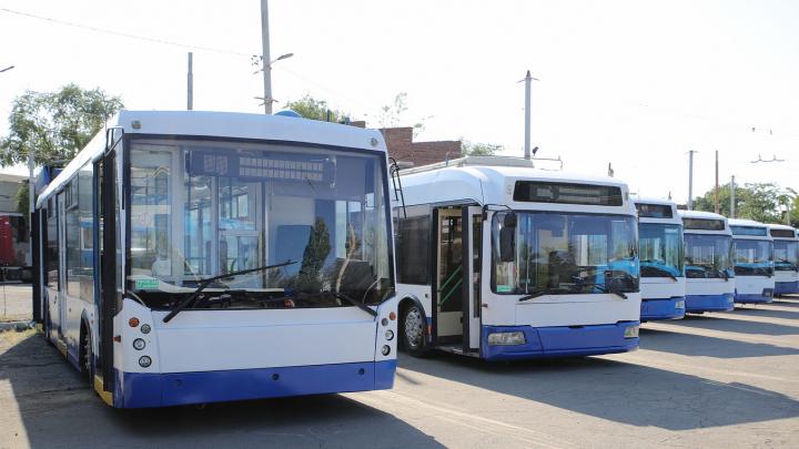 На маршруты Ростова дополнительно выйдут 50 троллейбусов