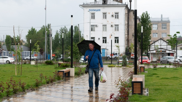 В Волгоградскую область идут сильные дожди и грозы
