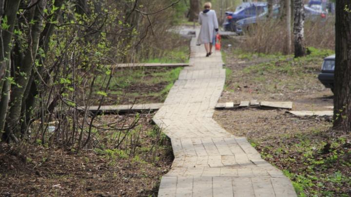 Более 400 тысяч рублей потратят на ремонт деревянных мостовых в Соломбале