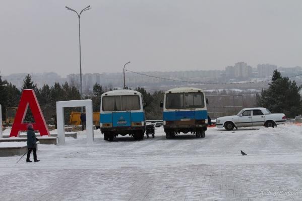 В этом году в Советском парке не успели сделать половины из задуманного